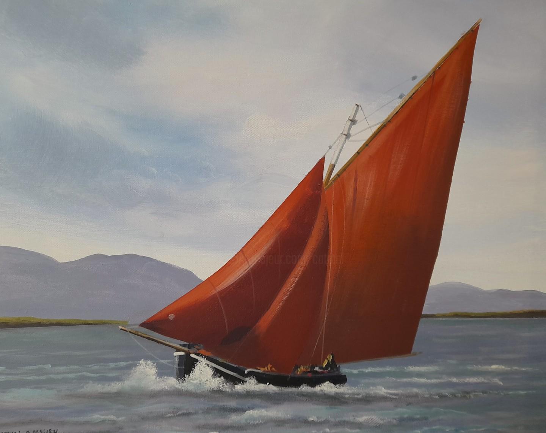 Cathal O Malley - Evening sailing