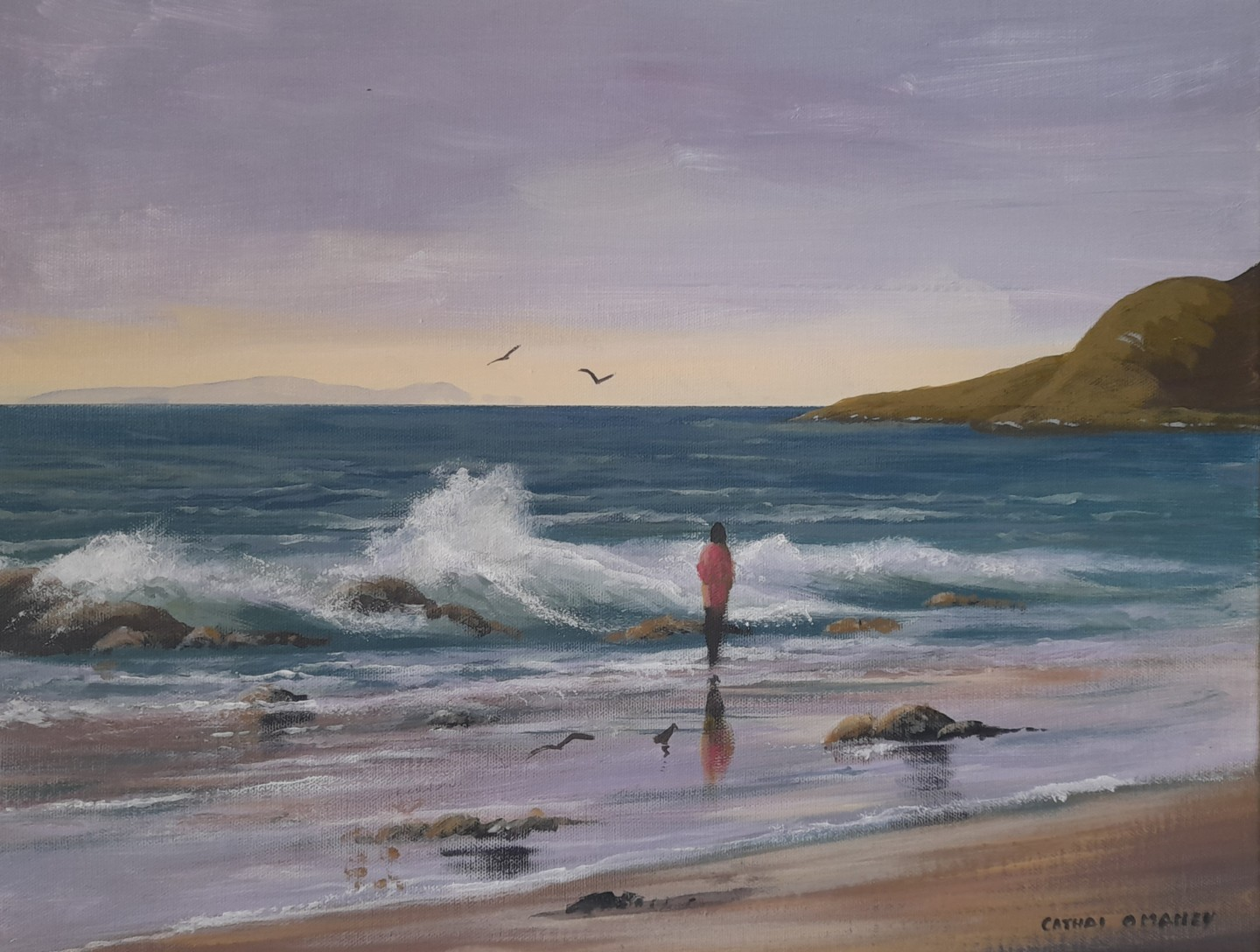 Cathal O Malley - Waves in cleggan