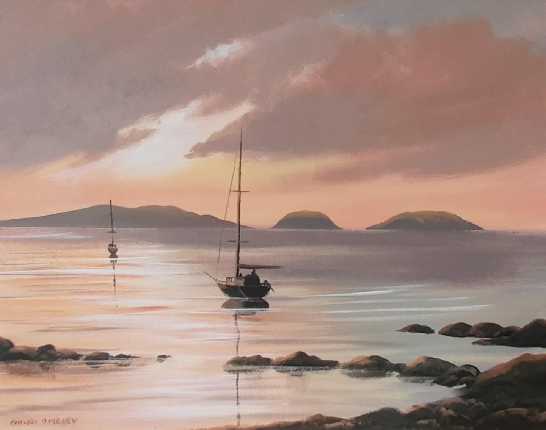 Cathal O Malley - High Island boats