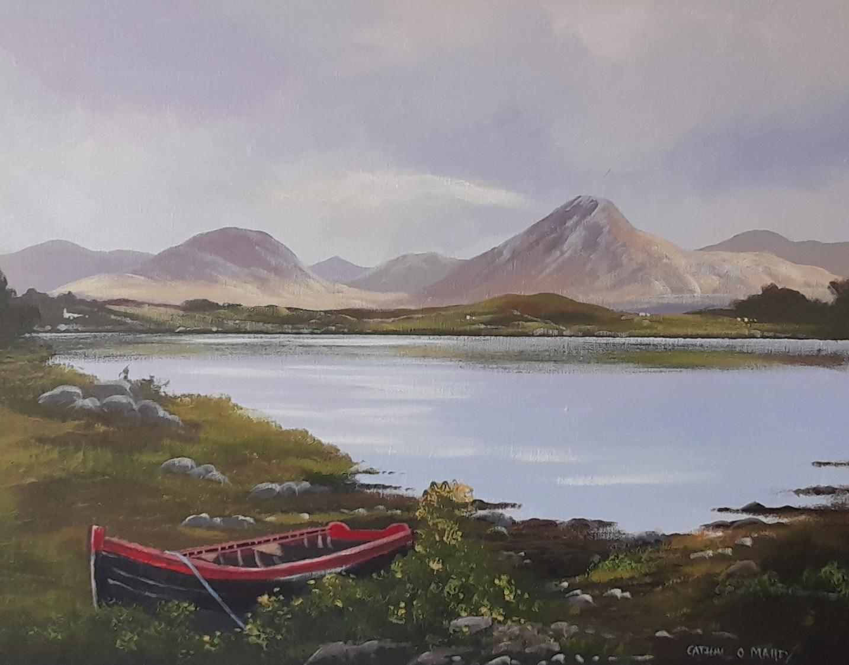 Cathal O Malley - Derryinver  boat