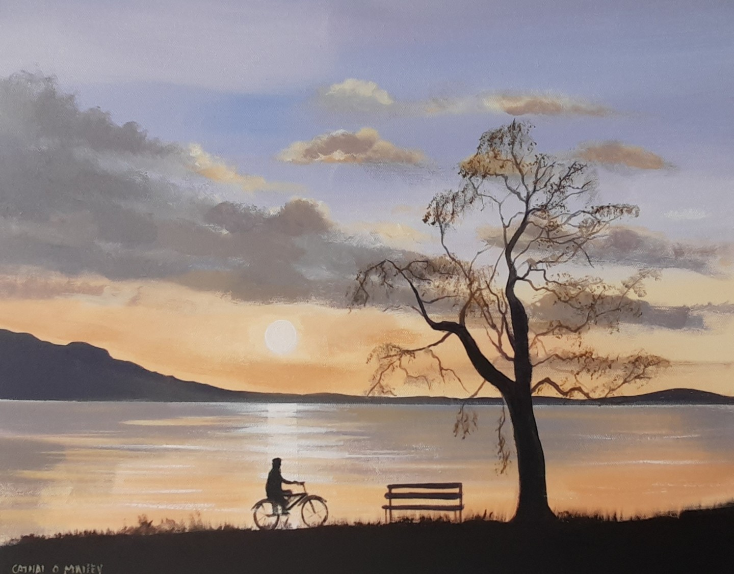 Cathal O Malley - Evening cycle