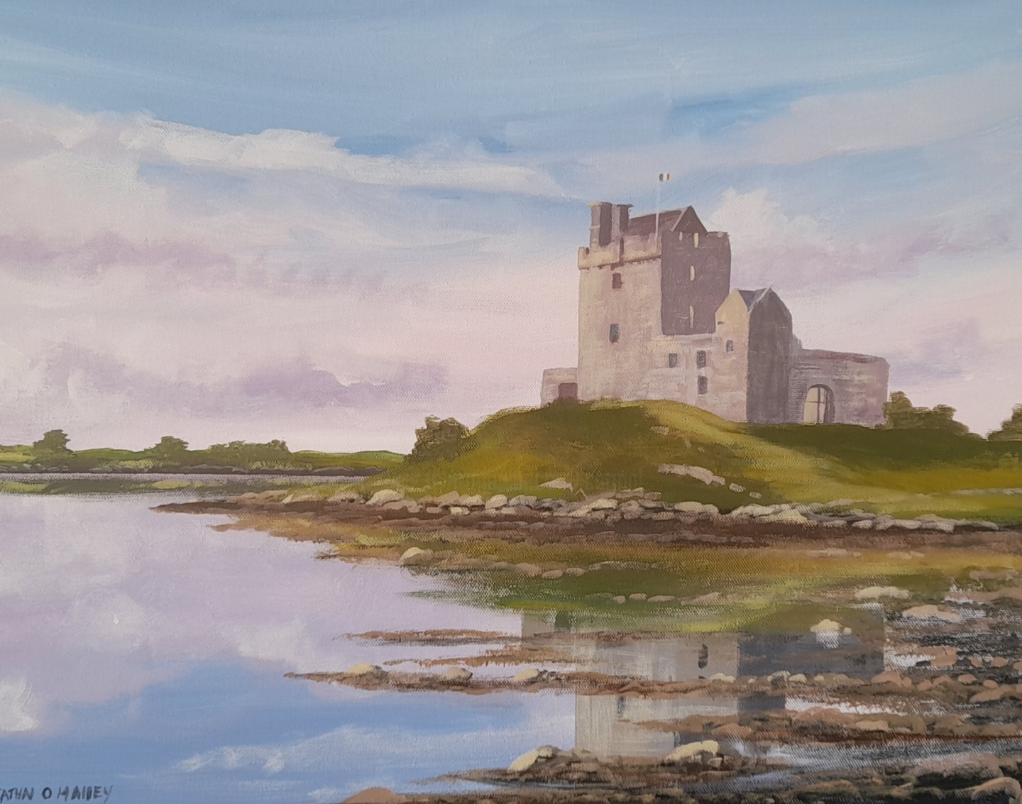 Cathal O Malley - Dunguaire  castle 21