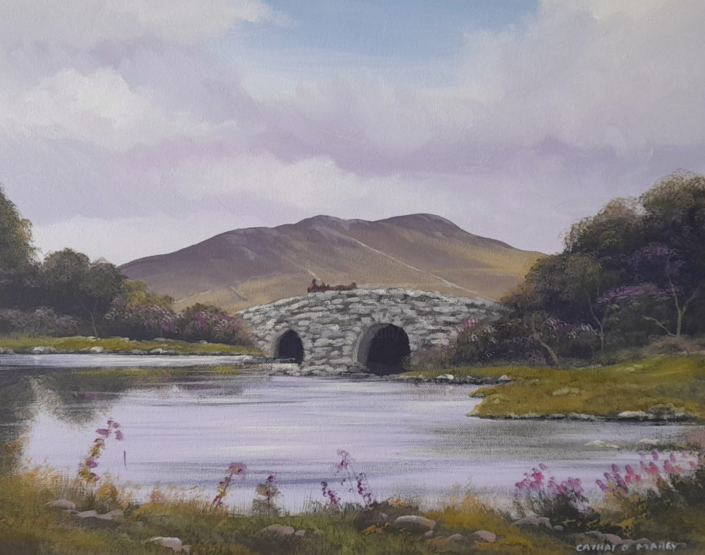 Cathal O Malley - Quiet man bridge in spring