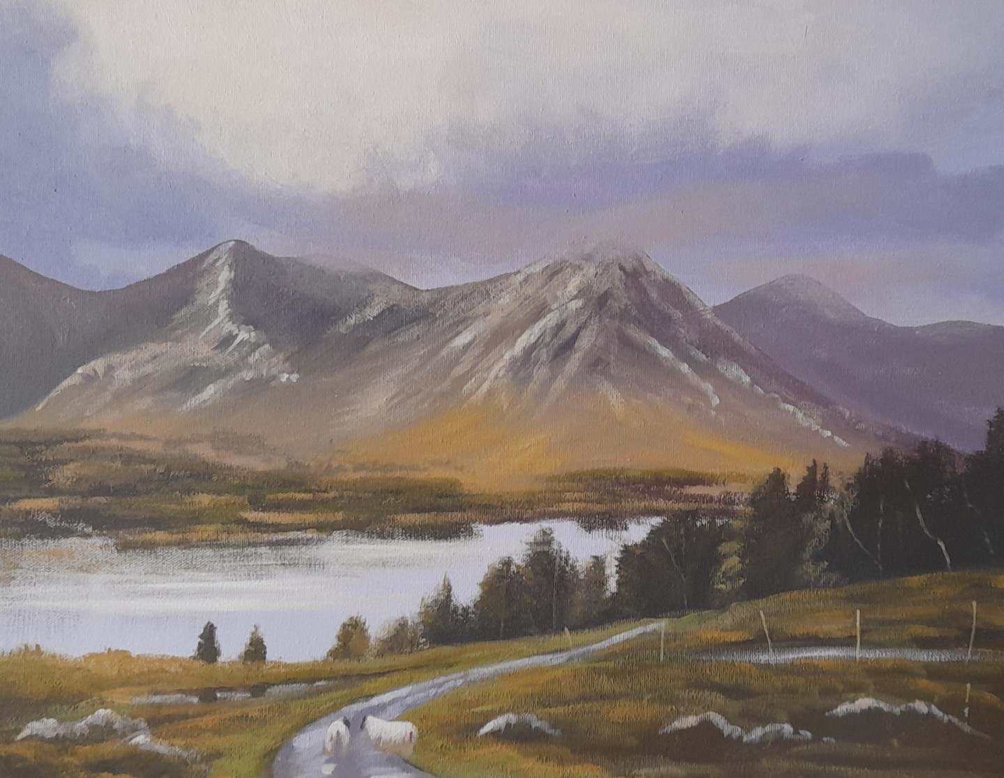 Cathal O Malley - Inagh Valley ,clouds