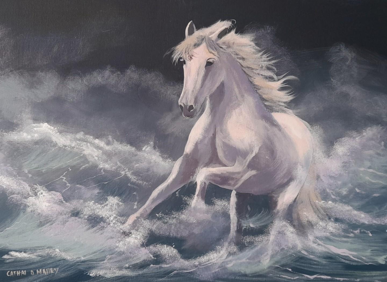 Cathal O Malley - 2021 sea horse
