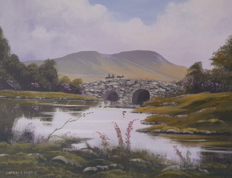 Cathal O Malley - quiet man bridge summer