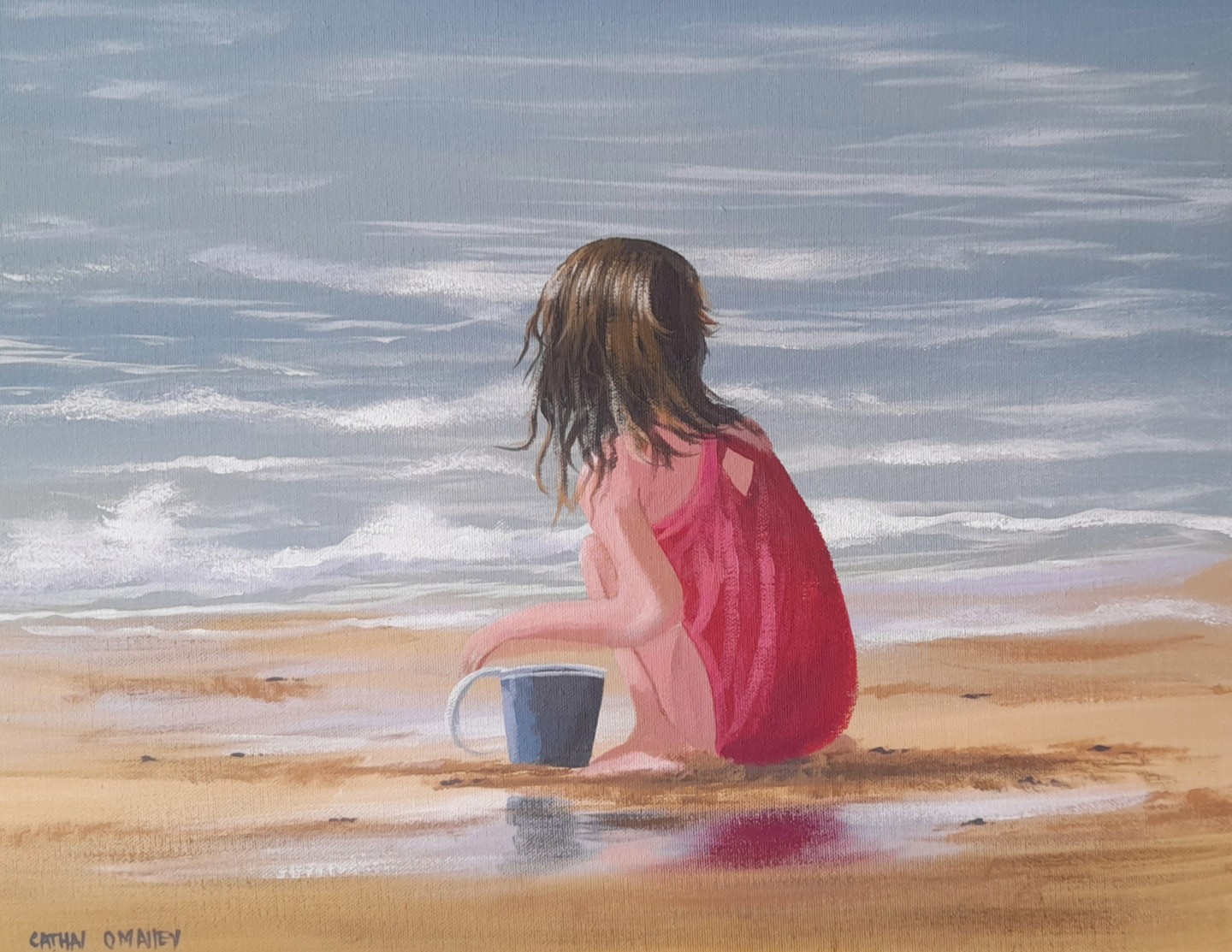 Cathal O Malley - By the beach