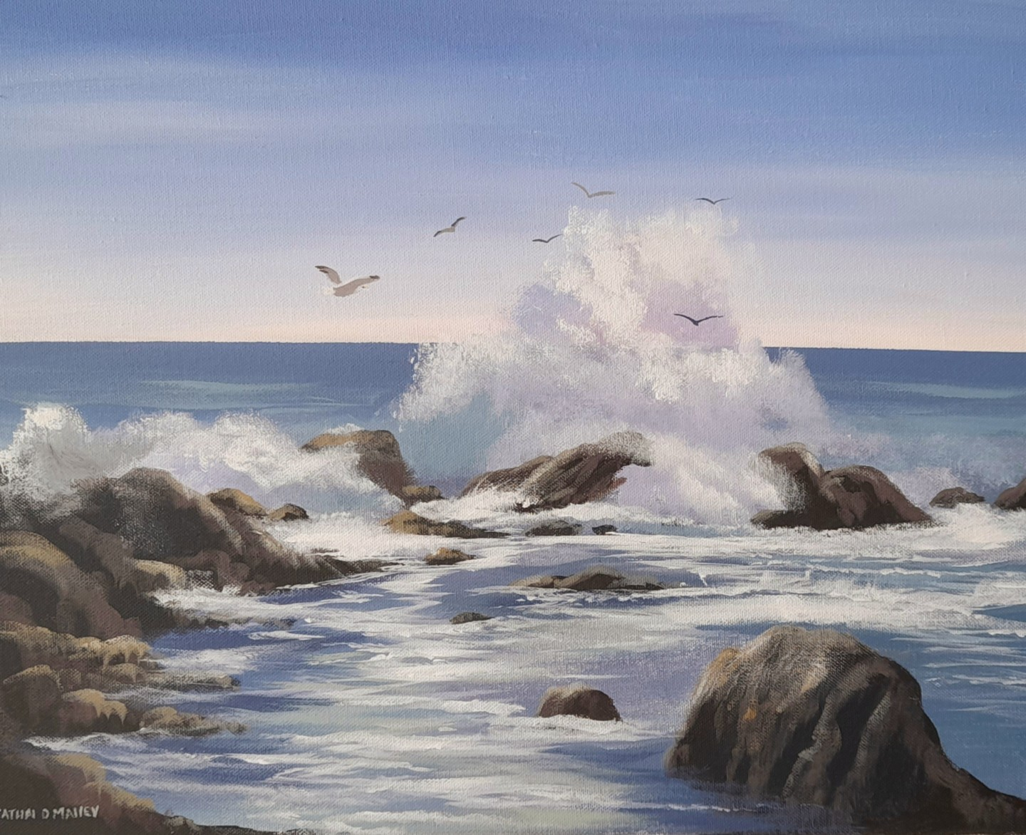 Cathal O Malley - Omey waves