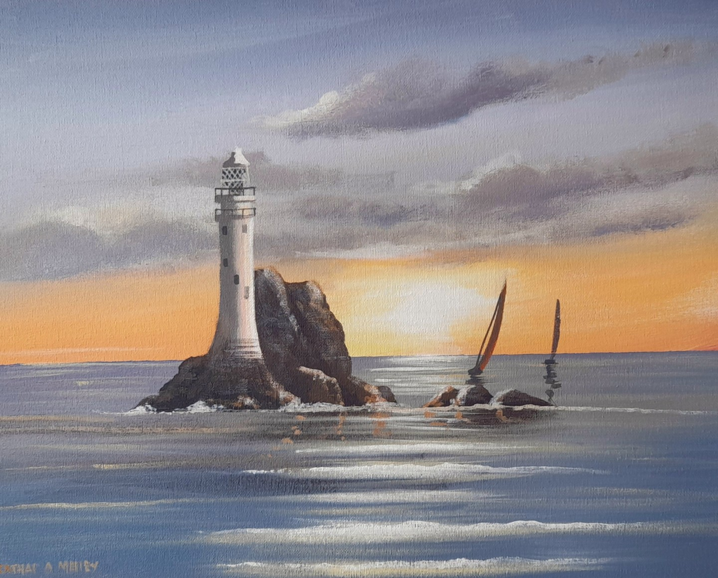 Cathal O Malley - Fastnet waves