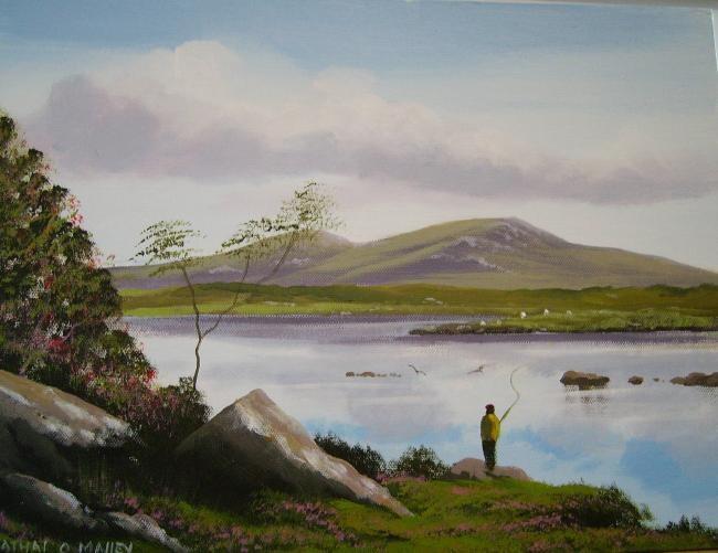 Cathal O Malley - river fishing ireland