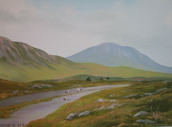 Cathal O Malley - road to galway