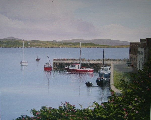 Cathal O Malley - roundstone harbour