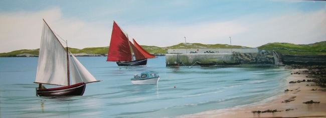 Cathal O Malley - aughris pier cleggan