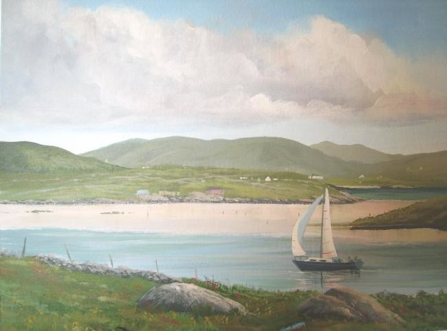 Cathal O Malley - omey strand co galway