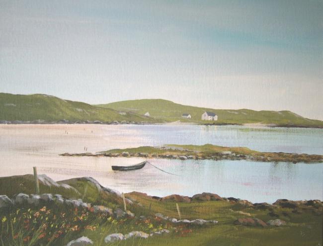 Cathal O Malley - old school,omey island