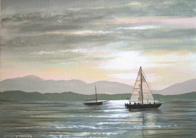 Cathal O Malley - sails in the sunset