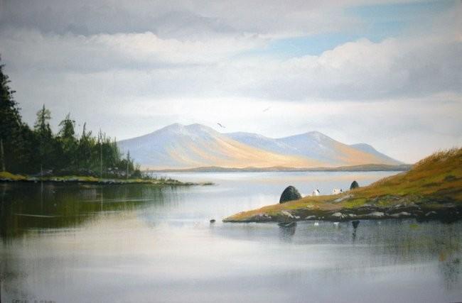 Cathal O Malley - connemara lakeside turf