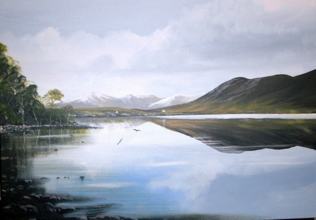 Cathal O Malley - kylemore snow