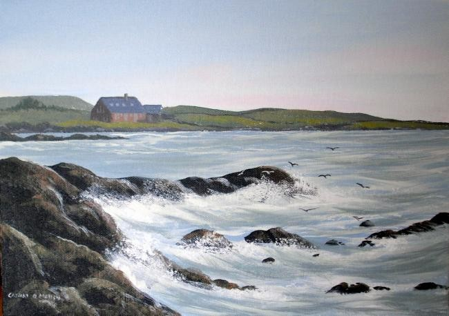 Cathal O Malley - mannin co galway