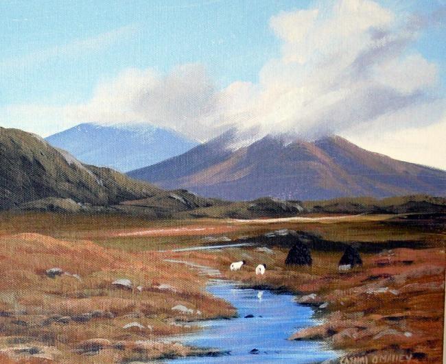 Cathal O Malley - autumn in connemara