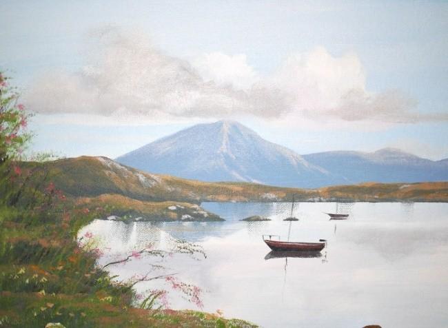 Cathal O Malley - reflections of connemara