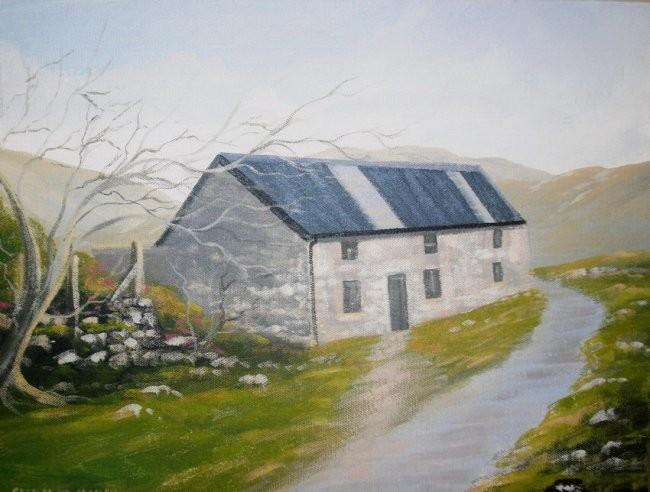 Cathal O Malley - burkes house recess