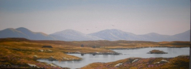 Cathal O Malley - road to roundstone