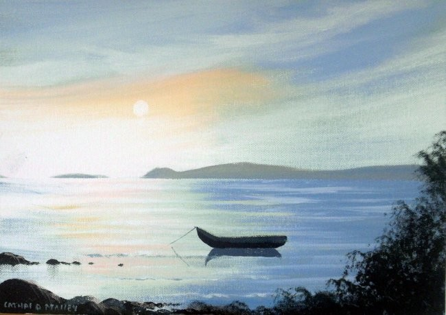 Cathal O Malley - inishbofin currach