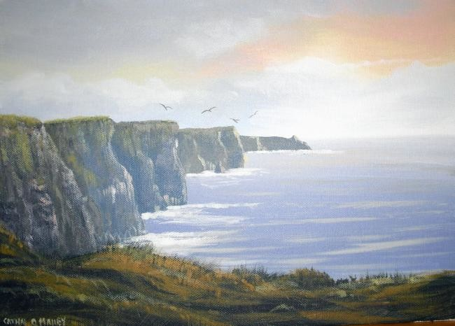 Cathal O Malley - cliffs of moher