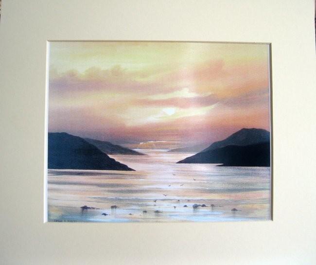 Cathal O Malley - kylemore sunset