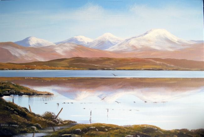 Cathal O Malley - connemara snow