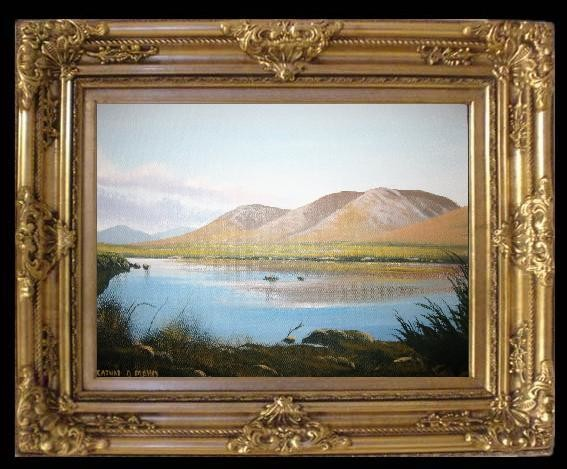 Cathal O Malley - maamcross  framed