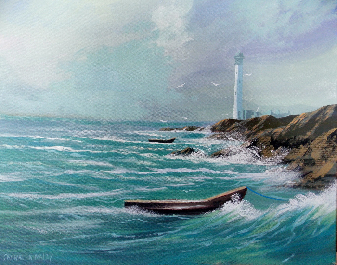 Cathal O Malley - waiting out the storm