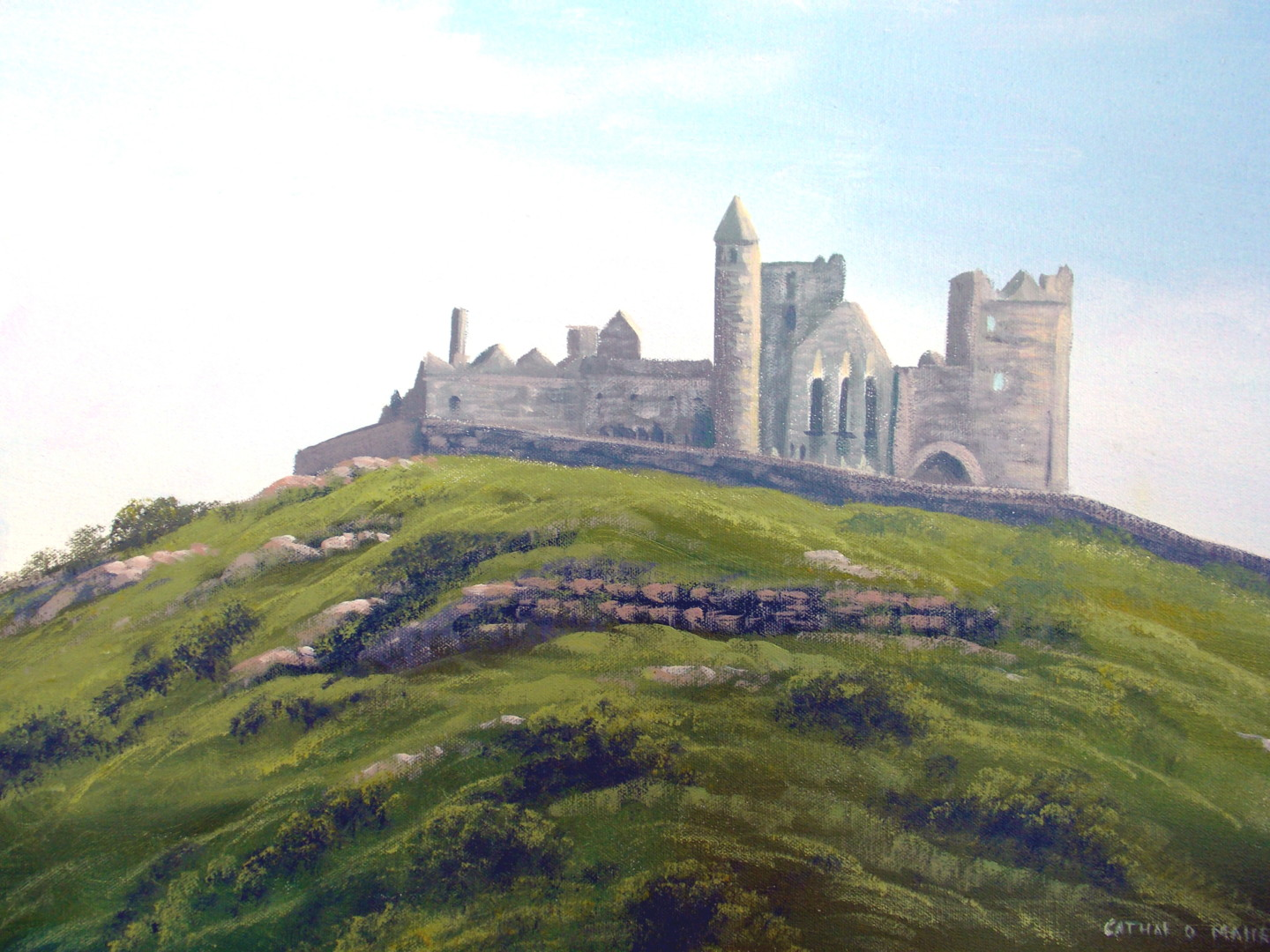 Cathal O Malley - rock of cashel  tipperary