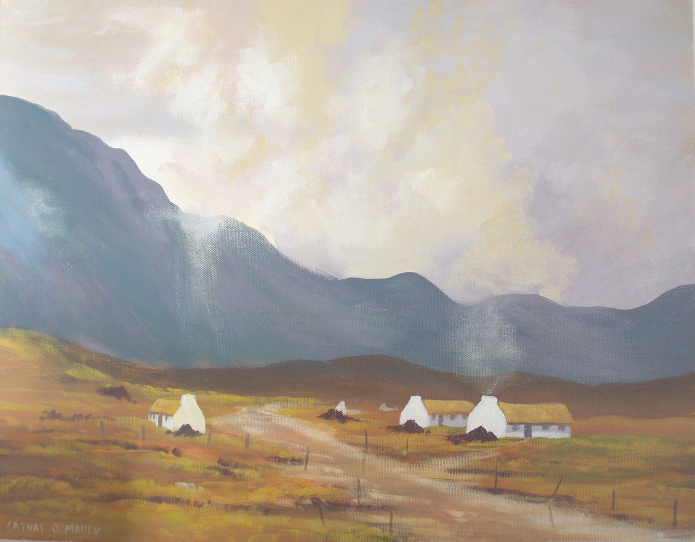 Cathal O Malley - valley light  oct