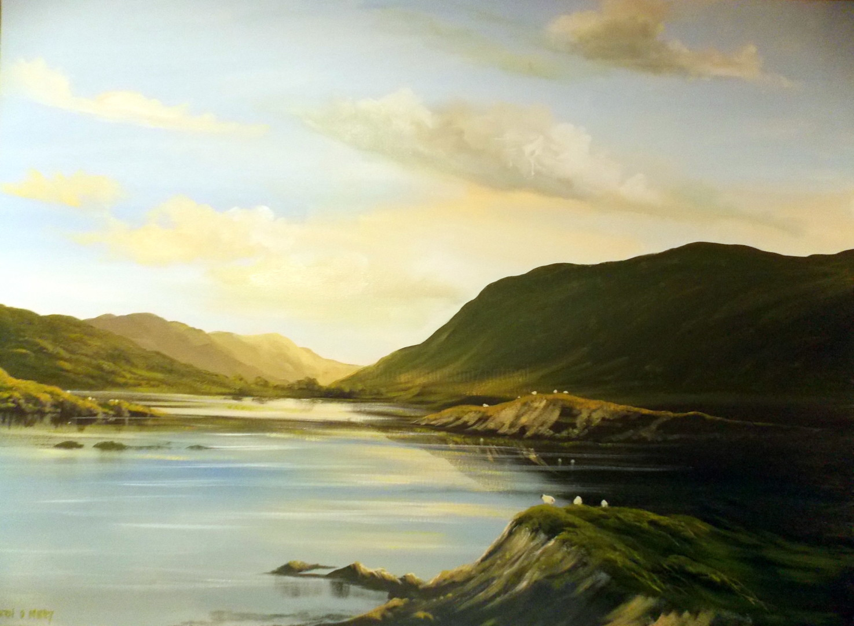 Cathal O Malley - valley sheep  nov