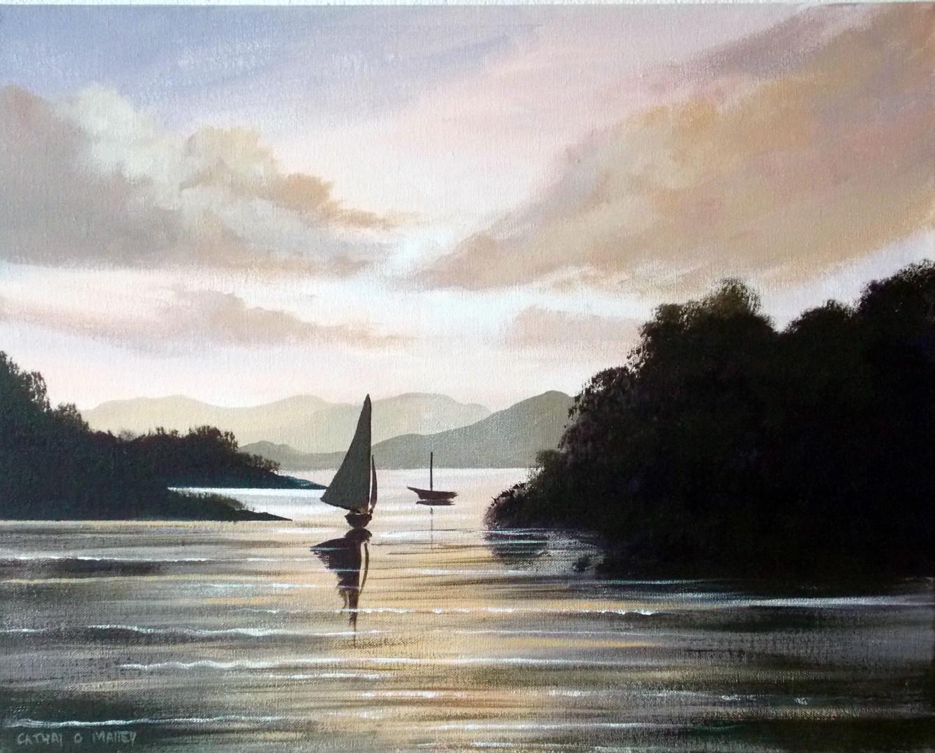 Cathal O Malley - sailing