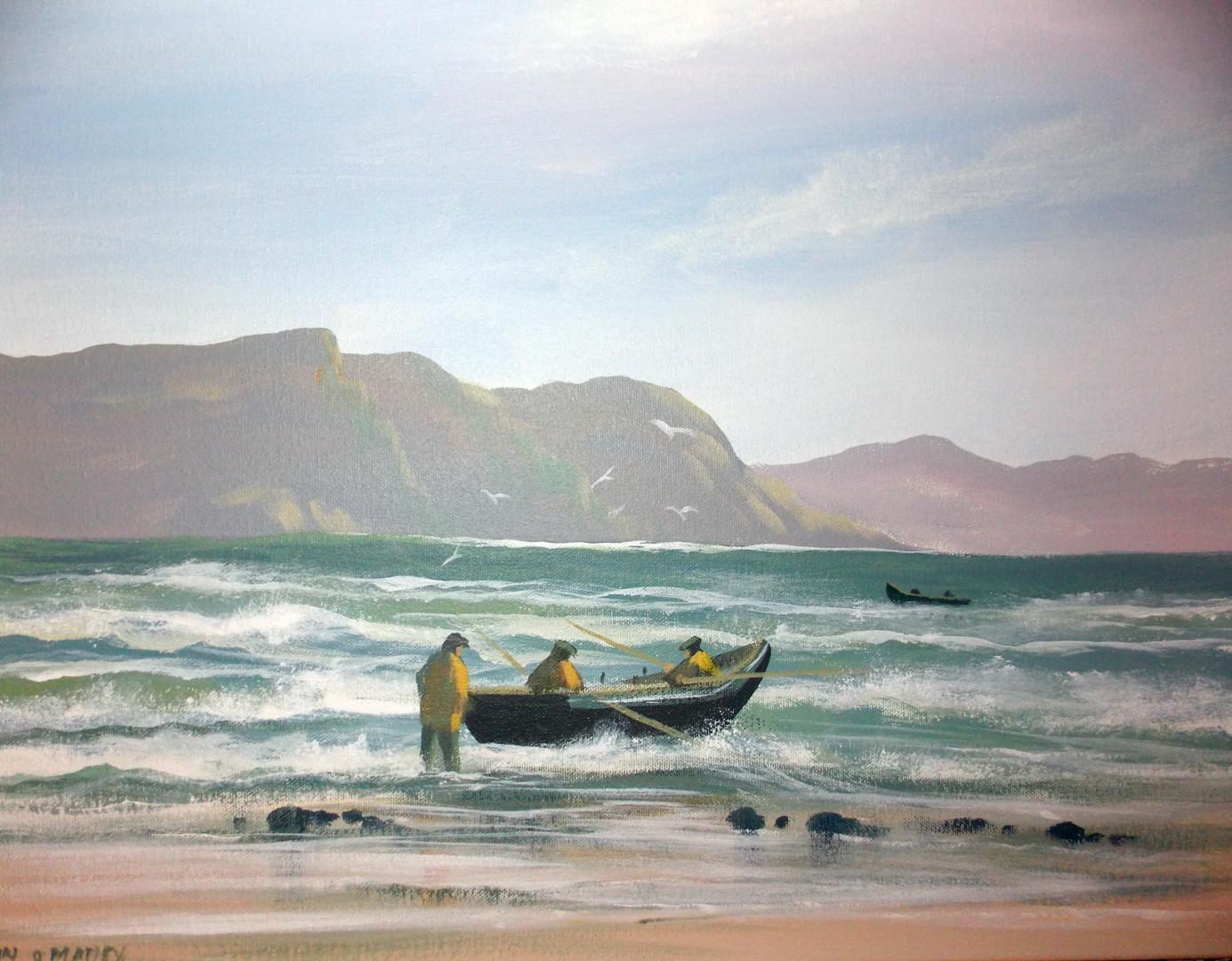 Cathal O Malley - atlantic  tide  achill