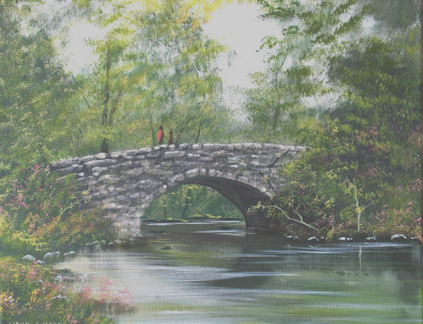 Cathal O Malley - bridge in co clare