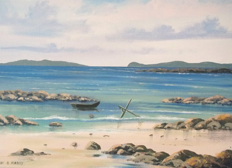 Cathal O Malley - aughrisbeg beach   april
