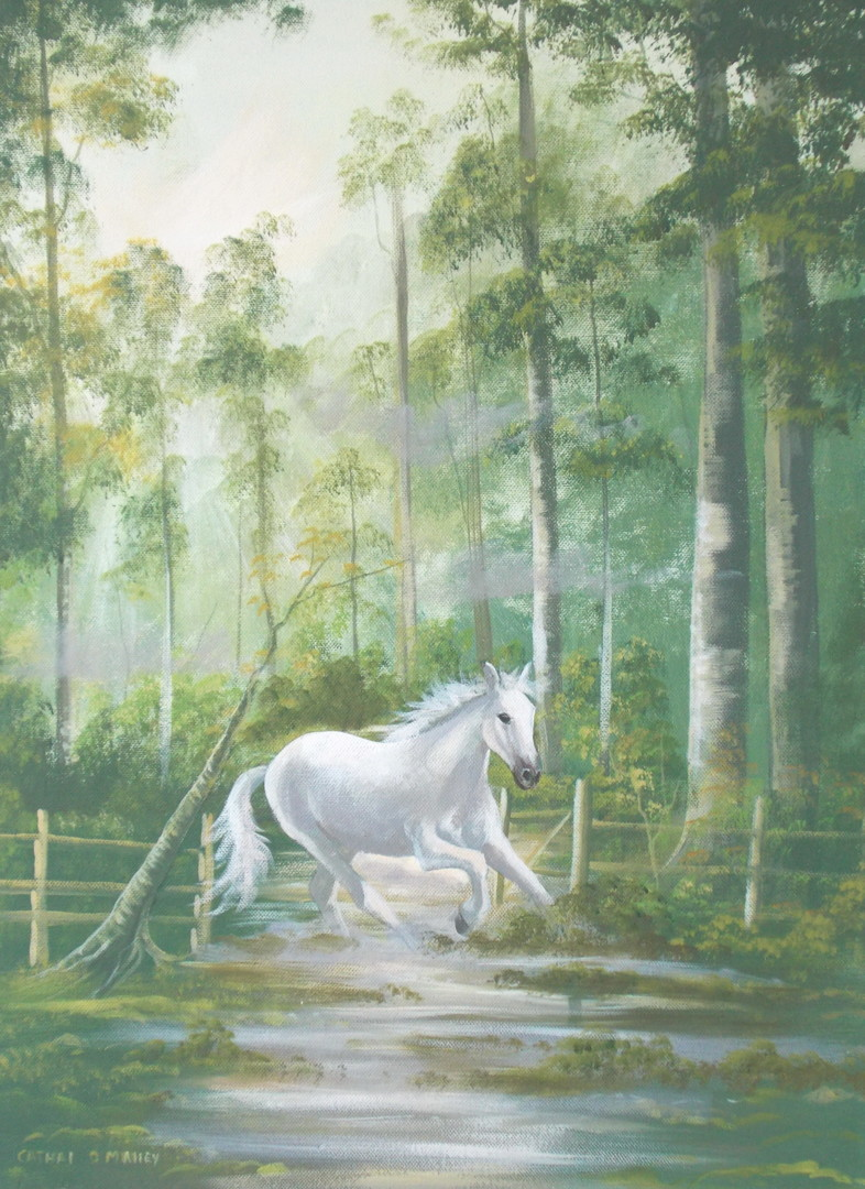 Cathal O Malley - forest gallop
