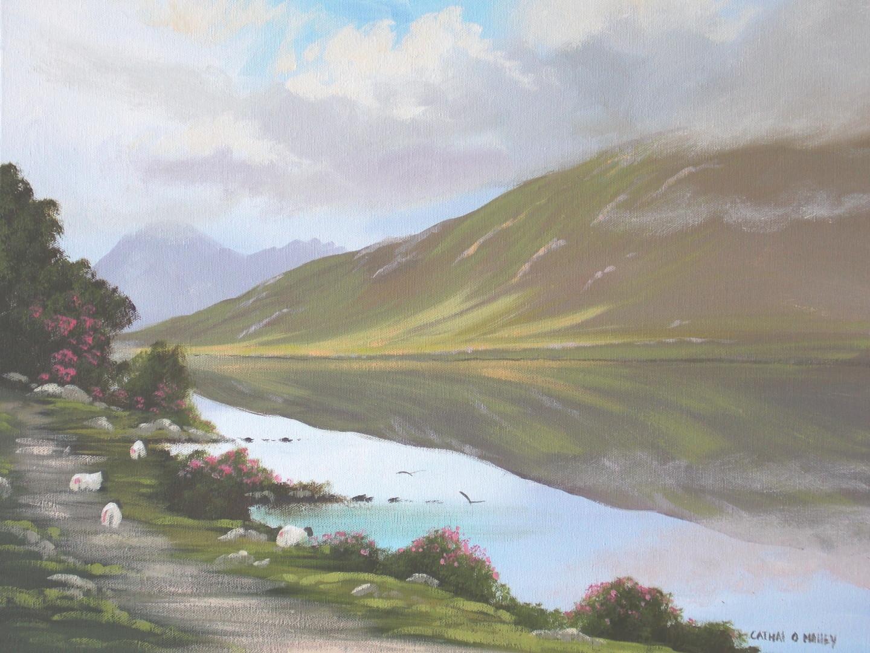 Cathal O Malley - kylemore lake 2015