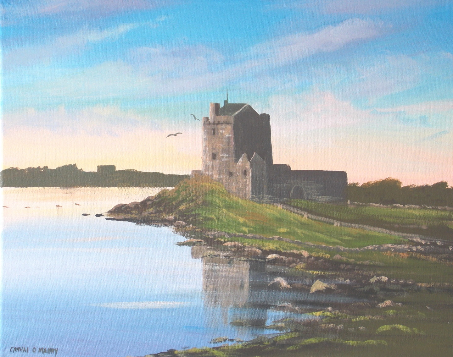 Cathal O Malley - dunguaire castle  galway