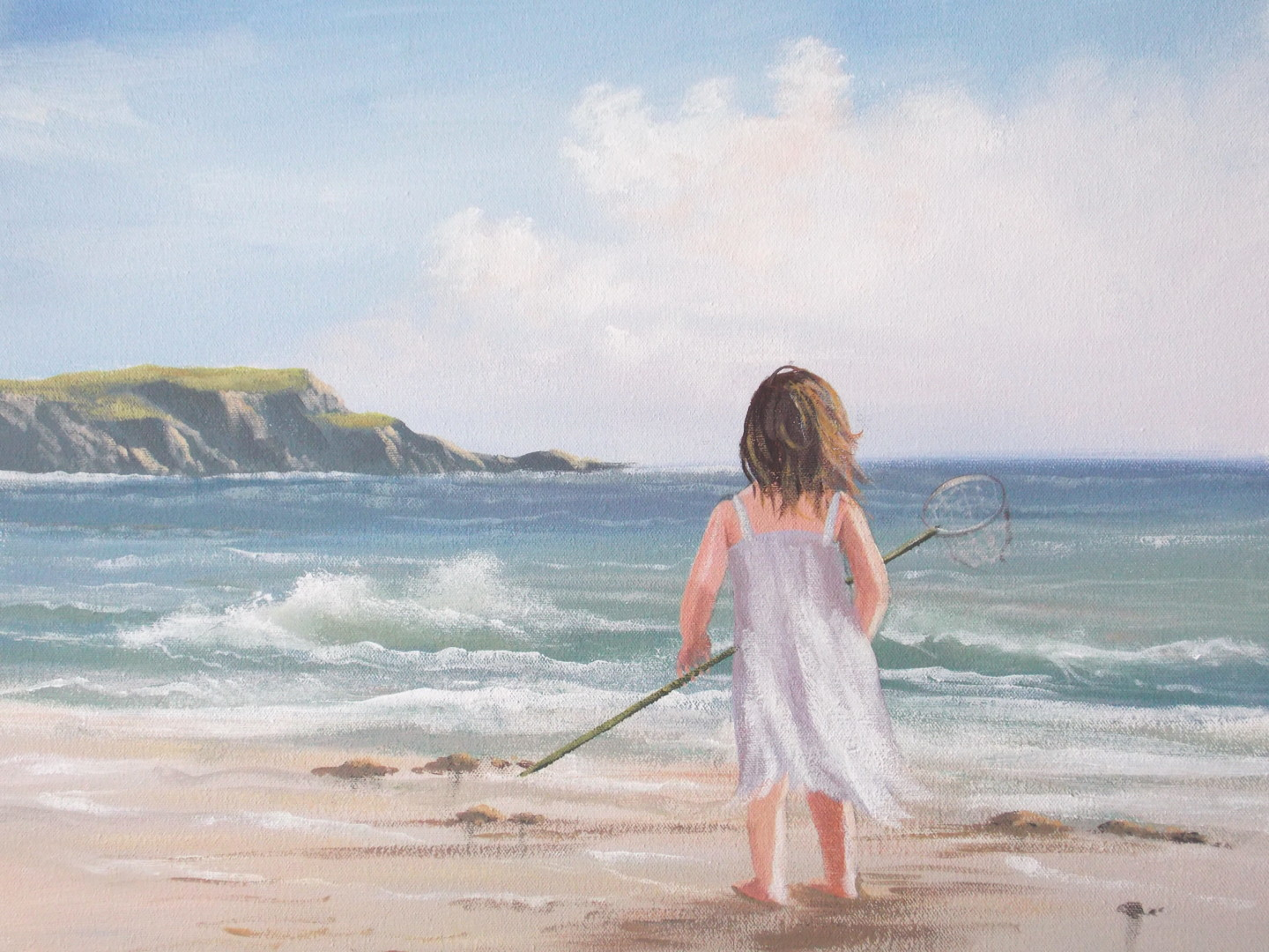 Cathal O Malley - summer by the sea