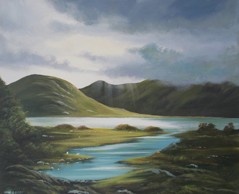 Cathal O Malley - connemara-light-