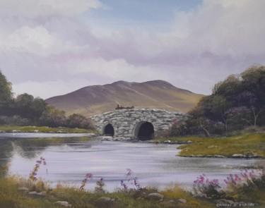 Quiet man bridge in spring