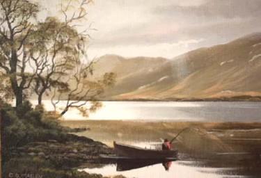 kylemore lake ,connemara