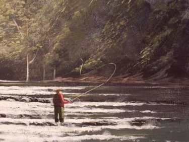 the fly fisherman