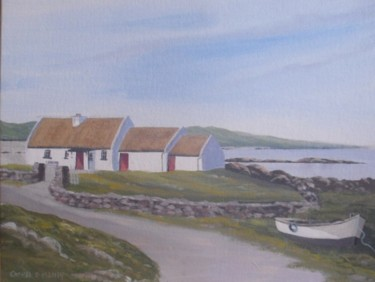 cottage by omey strand