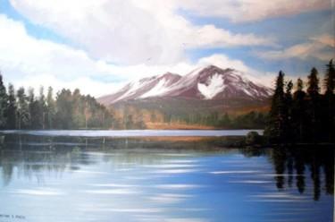 lake reflections july